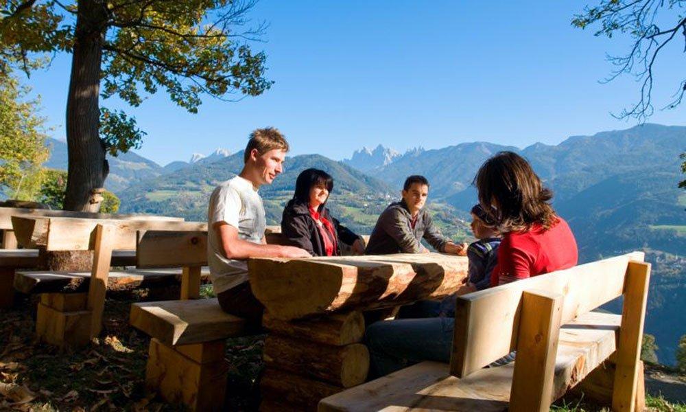 Wanderferien in Südtirol: ein Besuch auf der Alm