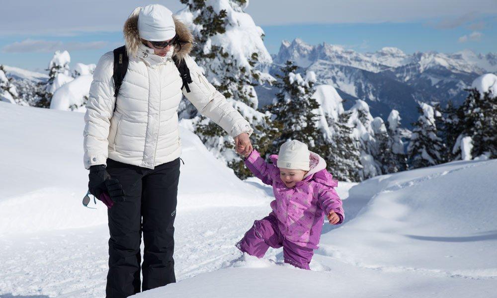 Die Winterferien in Südtirol: ein Erlebnis auch für Kids